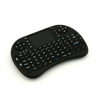 Picture of Ασύρματο πληκτρολόγιο OEM Rii i8 2.4GHz RF Mini Wireless Keyboard with Touch Pad Mouse Black
