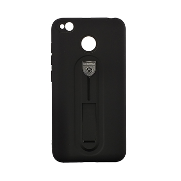 Hybrid Armor Case with Air Cushion for Xiaomi Redmi 4x - Color : Black