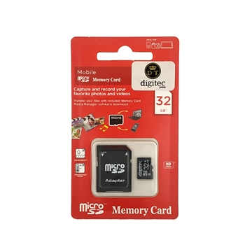 Digitec Micro SD Memory card with Adapter 32GB