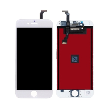 Οθόνη LCD και Αισθητήρας Αφής για Apple iPhone 6G - Χρώμα: Λευκό