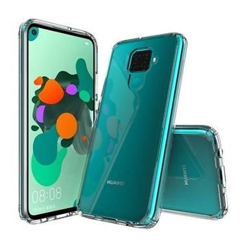 Θήκη Πλάτης Σιλικόνης για Huawei Mate 30 Lite - Χρώμα: Διάφανο