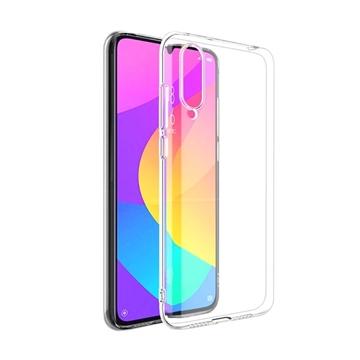 Θήκη Πλάτης Σιλικόνης για Xiaomi Mi 9 Lite - Χρώμα: Διάφανο