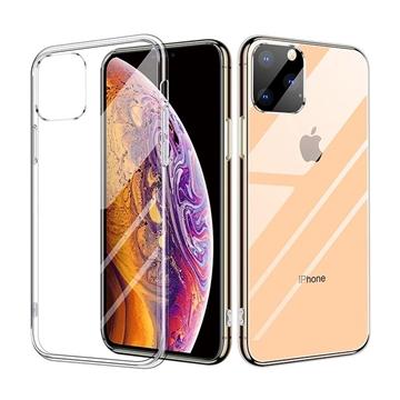 Θήκη Πλάτης Σιλικόνης για Apple iPhone 11 Pro Max - Χρώμα: Διάφανο