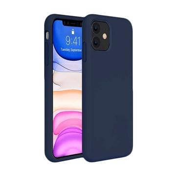Θήκη Πλάτης Σιλικόνης για Apple iPhone 11 - Χρώμα: Μπλε Σκούρο