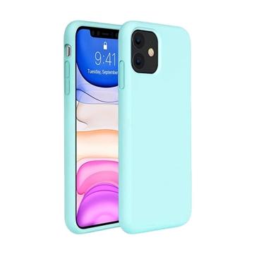 Θήκη Πλάτης Σιλικόνης για Apple iPhone 11 - Χρώμα: Τιρκουάζ