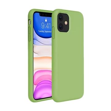 Θήκη Πλάτης Σιλικόνης για Apple iPhone 11 - Χρώμα: Πράσινο