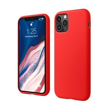 Θήκη Πλάτης Σιλικόνης για Apple iPhone 11 Pro - Χρώμα: Κόκκινο