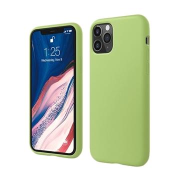 Θήκη Πλάτης Σιλικόνης για Apple iPhone 11 Pro - Χρώμα: Πράσινο