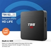 Smart TV BOX T95 S2 (2 RAM + 16GB ROM) Android 7.1  4K Android Home Entertainment