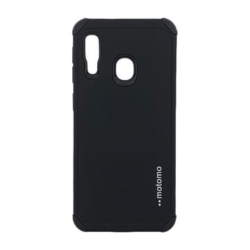 Θήκη Motomo Tough Armor για Samsung A202F Galaxy A20e - Χρώμα: Μαύρο