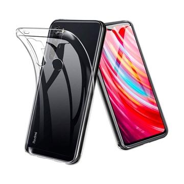 Θήκη Πλάτης Σιλικόνης για Xiaomi Redmi Note 8T - Χρώμα: Διάφανο