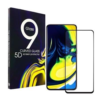 Προστασία Οθόνης Tempered Glass 5D Full Cover Full Glue 0.3mm για Samsung A715F Galaxy A71 - Χρώμα: Μαύρο