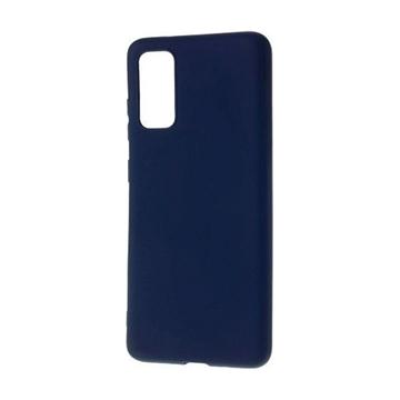 Εικόνα της Θήκη Πλάτης Σιλικόνης για Samsung G980F Galaxy S20 - Χρώμα: Σκούρο Μπλε