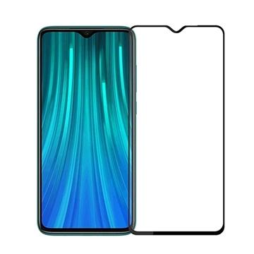 Εικόνα της Προστασία Οθόνης Tempered Glass 9H/5D Full Glue Full Cover 0.3mm  για Xiaomi Redmi Note 8 Pro - Χρώμα: Μαύρο