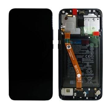 Picture of Γνήσια Οθόνη LCD με Μηχανισμό Αφής και Πλαίσιο και Μπαταρία  για Huawei Mate 20 Lite - Χρώμα: Μαύρο