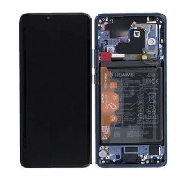 Picture of Γνήσια Οθόνη LCD με Μηχανισμό Αφής και Πλαίσιο και Μπαταρία  για Huawei Mate 20 Pro - Χρώμα: Μπλε