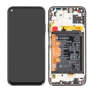 Εικόνα της Γνήσια Οθόνη LCD με Μηχανισμό Αφής και Πλαίσιο με Μπαταρία για Huawei P40 Lite 2020 (Service Pack) 02353KFV- Χρώμα: Breathing Crystal